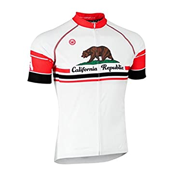 Canari Men s California Bear Souvenir Cycling/Biking Jersey Medium