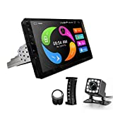 CarThree Android Single Din Car Stereo 9 Inch Car Radio Touch Screen with GPS Navigation WiFi Backup Camera Bluetooth Hands Free Mirror Link Head Unit