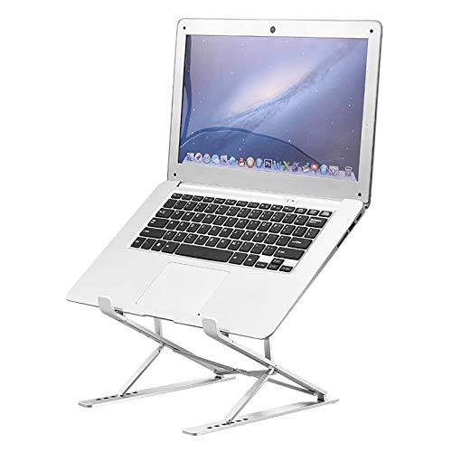 Portátil portátil ajustable soporte portátil portátil Riser,portátil ergonescritorio de aluminio,soporte de ordenador para portátil, totalmente plegable,menos de 43,9cm portátil puede ser Uesd