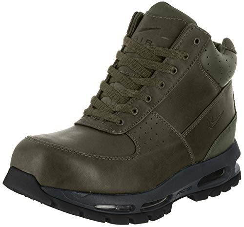NIKE Men's Air Max Goadome Boot, Olive Canvas/Anthracite, 9
