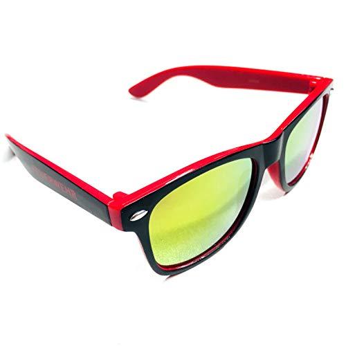 Roter Hahn 112 Feuerwehr Sonnenbrille Brille Ehrenamt aus Leidenschaft inkl. gratis Stoff Etui exklusiv