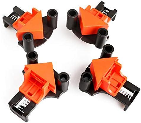 487 opinioni per Morsetti Angolari,4 pezzi Set multi-angolo 60 Gradi 90 gradi 120 Gradi Fixer,