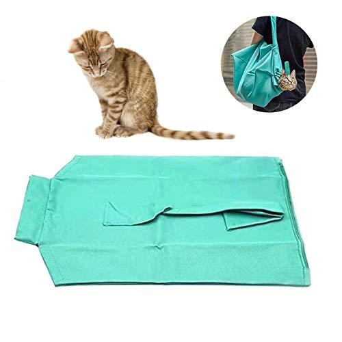 Rehomy Tragbare Katze Tragetasche Freisprecheinrichtung Tragetasche Tragetasche Katzennagel Clipping Reinigung Pflegetasche