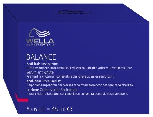 Wella Balance Anti Hair Loss Serum (8 x 6 ml) ampollas Professionals