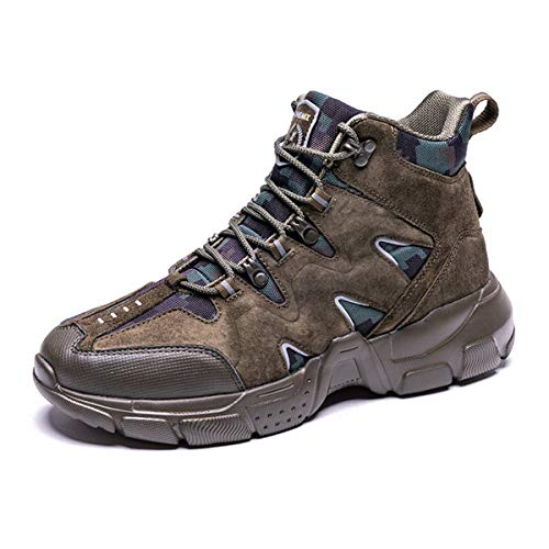 ONEMIX Men's Hiking Shoes Lightweight Outdoor Climbing Fishing Trekking Sneakers Military Tactical...