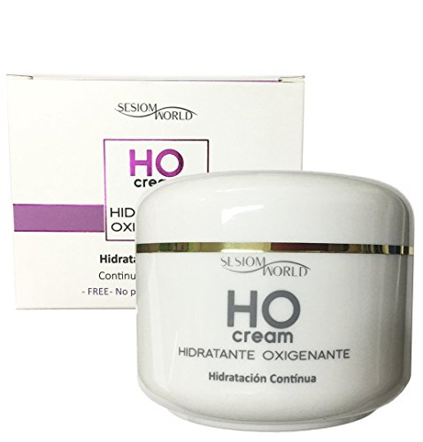 Crema facial HO Hidratante Oxigenante alta hidratación sin parabenos sin colorantes 200ml sesioMWorld®