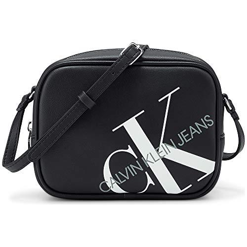 Calvin Klein Jeans Damen Umhängetasche CAMERA BAG Schwarz Synthetik 0