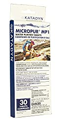 Katadyn Micropur MP1 Water Purification Tablets