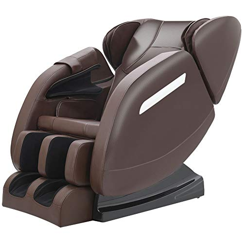 Zero Gravity Full Body Massage Chair Recliner Built-in Bluetooth Neck Shoulder...