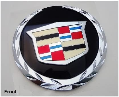 GM FACTORY CADILLAC sold out ESCALADE 07 THRU 14 Inventory cleanup selling sale FRONT CREST WREATH AND E
