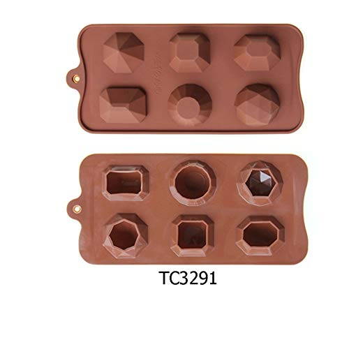 Fantastic Deal! SILICONE MOLD CHOCOLATE DIAMOND SHAPE