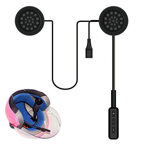 Rokoo Motorrad Helm Headset Bluetooth Gegensprechanlage Headset Wireless Helmet Heap Kopfhörer