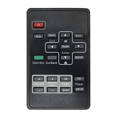 Calvas Control remoto uso para controlador de proyector Benq BS5731 EP5730D MP522ST...