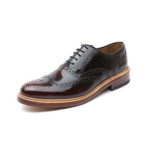 GORDON /& BROS Ron Chaussures Hommes-élégante basses-Chaussure Lacée Bleu Nouveau