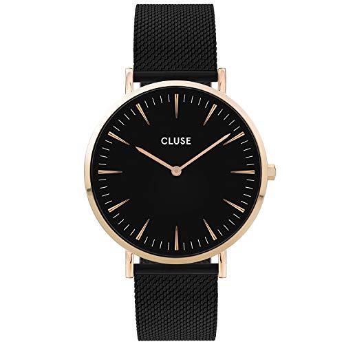 CLUSE Reloj Analógico para Mujer de Cuarzo con Correa en Acero Inoxidable CW0101201008