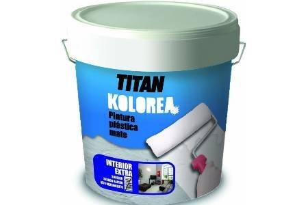 Titan m100526–Vernice plastica Decor Cofac opaco facciata 5kg