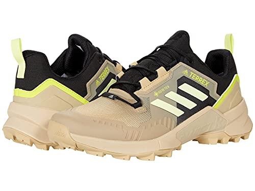 adidas Terrex Swift R3 Gore-TEX Hiking Shoes Beige Tone/Pulse Yellow/Core Black 7 D (M)