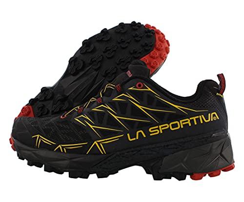 La Sportiva Men's Akyra Mountain Running Shoe, Black, 44 M EU