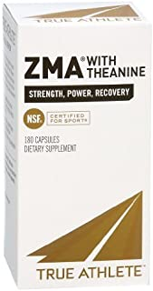 True Athlete - Zma With Theanine, 180 capsules
