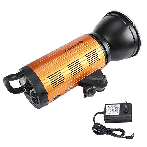 Fotostudio-fotografie 3200k-6500 K LED-fotografie licht ingebouwde 2,4-G-afstandsbediening voor portretten, bruiloften en stilleven met COB-lamp universeel voor Bowens-Mount, LED 2000AII