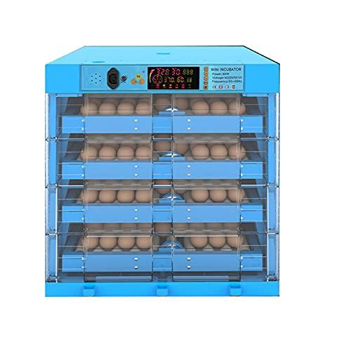 Technics Incubato Incubadora de Huevos Automatica Huevo Giratorio Automático de Temperatura Ajustable Para Huevos de Gallina, Huevos de Pato, Huevos de Paloma, Huevos de Ganso ( SIZE : 256 pcs )