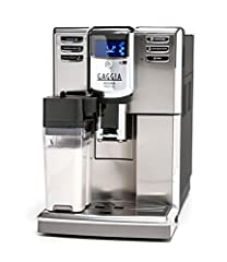 ONE TOUCH BREWING AND FROTHING: Bean-to-cup feature with automatic milk frothing for cappuccinos, macchiatos and lattes. Power Cord Length : 48 inches PROGRAMMABLE: Programmable brewing options for lattes, cappuccinos, macchiatos and espresso;Steam W...