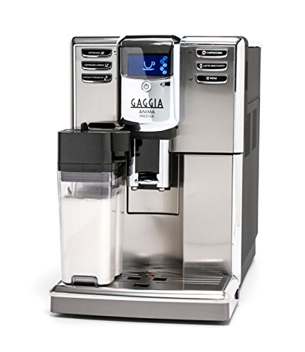 Gaggia Anima Prestige Automatic Coffee Machine, Super Automatic Frothing for Latte, Macchiato,...