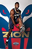 Trends International NBA New Orleans Pelicans - Zion Williamson, 22.375' x 34', Unframed Version