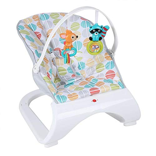 JWDYA Infant Baby Rocker Electric Rocking Chair Cradle Newborn Comfort Vibration Rocking Chair Soothing the baby's Artifact Sleeps