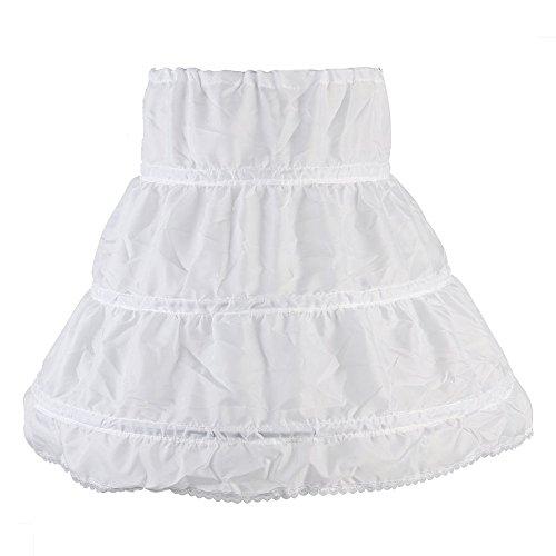 6 Ringe Unterröcke - Brautkleid Petticoat Unterrock Reifrock Petticoat Kleid Hochzeit Petticoat Reifrock Für Hochzeitskleider Ballkleider Abendkleider Brautkleider Promkleider,Tanzen,Bar (Kind)