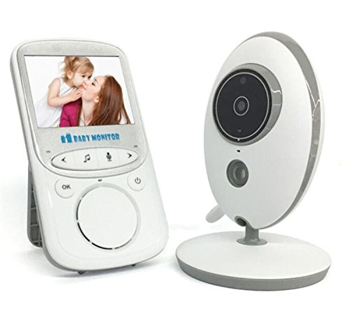 Buy Bargain HMILYDYK Audio Baby Monitor Wireless Video with 2.4 LCD Display Camera Night Vision 2 W...