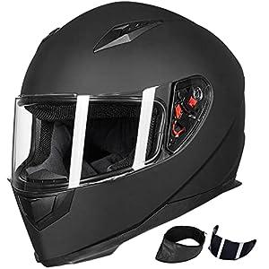 ILM Motorcycle Street Bike Helmet