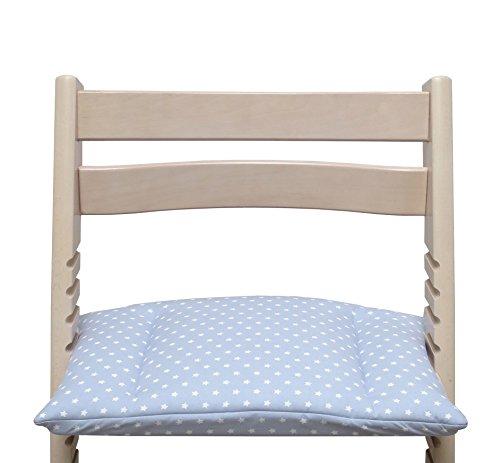 gris /étoile - r/éducteur de si/ège Blausberg Baby sans fente au coussin dassise coussins set Junior pour chaise haute Stokke Tripp Trapp