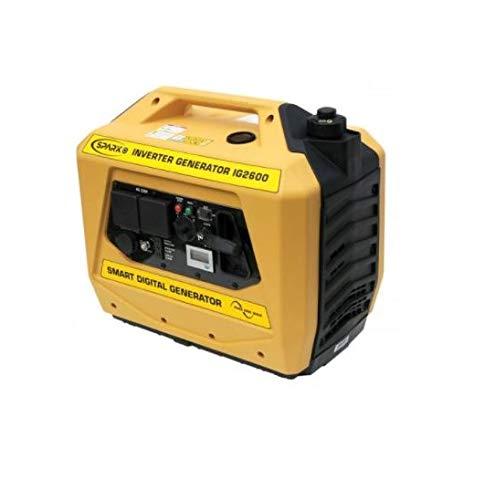 Kipor IG2600 Spark Suitcase Inverter Generator, 2.1 kVA