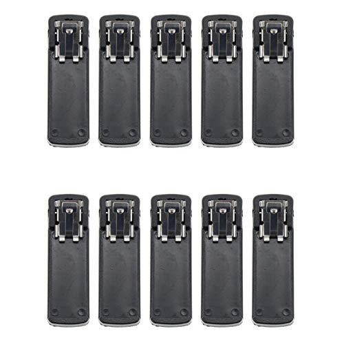 Walkie Talkies Clip da Cintura per Motorola MT2100 MTS2000 MTX838 MTX8000 MTX9000 (Set di 10)