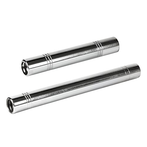 """Mirafit 1"""" Spinlock Dumbbell Bar Connector - Choice of Size"""