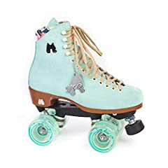 DURABLE ROLLER SKATES - These lifestyle roller skates are hand-made using a soft suede leather material that is designed to be broken in with minimal discomfort. EASY TO LACE & COMFORTABLE FIT - These adjustable roller skates have an easy lace system...