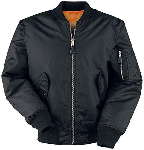 Delta Classic MA-1, giacca da aviatore Nero L