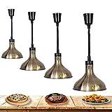 Suge Scaldavivande for parti, Calore Cibi Lampade a buffet Scalda lampada a buffet che serve luci della cucina della lampada di calore delle lampadine for Qualità, forniture ristorante, Restaurant Equ