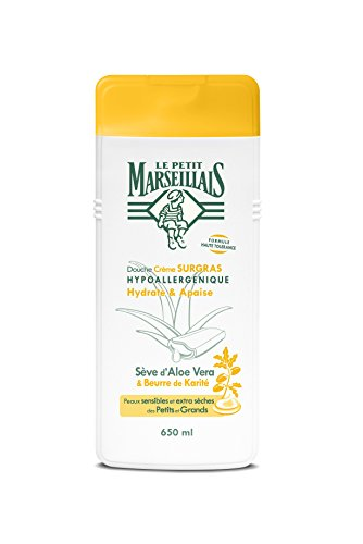 Le Petit Marseillais Duschcreme, rückfettend, Aloe Vera, Sheabutter, 650 ml