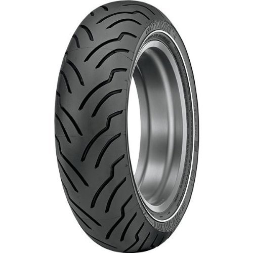 Dunlop American Elite NW Front Tire - 130/80B-17/Narrow Whitewall