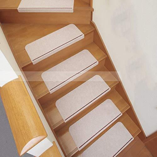 ZEQUAN Escaleras con Antideslizante escaleras, de Madera Peldaños, Perfecto for Animales domésticos y niños (marrón, 45cm x 21cm) (Color : 5psc)
