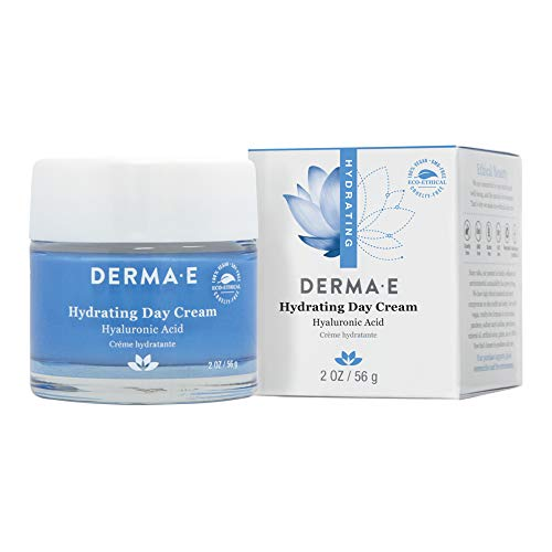 DERMA-E Hydrating Day Cream with Hyaluronic Acid, Standart, 2 Ounce
