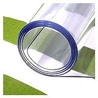Yongqin 床保護マット、無臭ポリ塩化ビニールテーブルマット、透明テレビキャビネット、テーブルクロス、靴キャビネットマット、コーヒーテーブルマット、柔らかいガラス透明マット 色:1.5Mm、サイズ:80X120