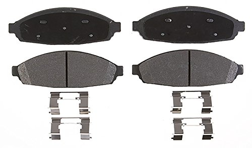ACDelco 14D931CH Advantage Ceramic Front Disc Brake Pad Set