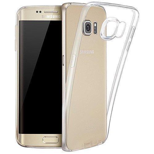 LONVIPI Cover Galaxy S6 Edge PLUS / EDGE+ con PROTEZIONE della FOTOCAMERA Trasparente Custodia Clear Ultra Sottile in Silicone Gel anti graffio e Cover Anti Urto Smartphone - LONVIPI
