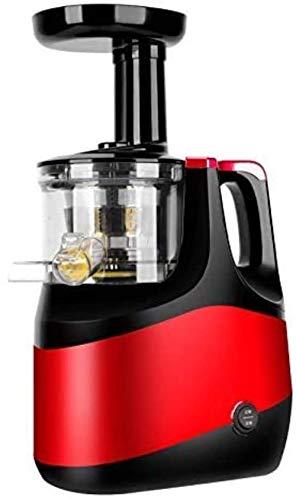HAOSHUAI Máquinas de exprimidor, exprimidor lento masticando exprimidor, exprimidores de frutas y verduras enteras, función fría de doble etapa