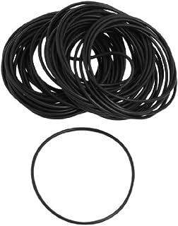 DealMux 45mm x 1.5mm Nitril Rubber O Ring Olie Seal Grommets 50 stuks