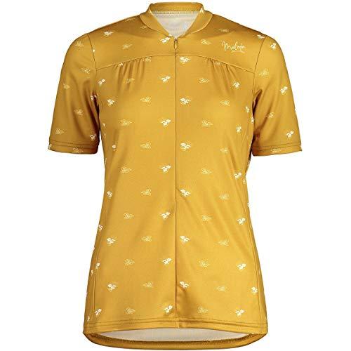 Maloja Damen Tschittam. All Mountain 1/2 Hemd, goldene Sonnenwolke, L
