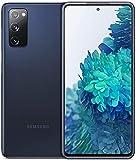 Samsung Galaxy S20 FE (128GB, 6GB) 6.5' 120Hz AMOLED, IP68 Water-Resistant, GSM Unlocked 4G LTE (Global, T-Mobile, Metro) International Model SM-G780F (Fast Wireless Qi Pad Bundle, Cloud Navy)